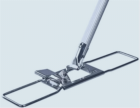 Ha-Ra Bodenexpress Edelstahl 30 cm + Stiel